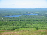 Halfmoon Lake from Prospect Mountain - photo by Vinny Leone - added 8/1/08