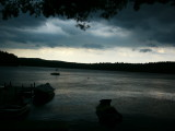 Halfmoon Lake during Storm - photo by Vinny Leone - added 8-2008