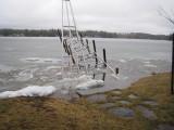 2007 Flood on Halfmoon as Lake was Breaking Up - by Vinny Leone