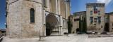 Gerona, Plaza lateral de la Catedral
