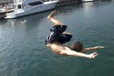 Enjoying the crystal clear waters of Harbor Springs