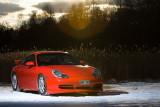 C4 Porsche in the Snow