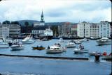 The Norweigian Royal family visit Bergen 1970 - 1990