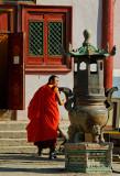 A Buddhist monk, Gandan Monestary