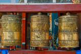 Prayer wheels, Gandan Monestary