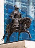 Statute of one of Chinggis Khaan's generals, Parliament House