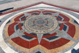 Zero kilometer marker, Sukhbaatar Square
