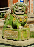 Stone lion, Winter Palace of the Bogd Khaan