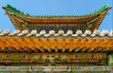 Eaves of one of the buildings at the Winter Palace of the Bogd Khaan