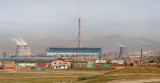 Russian-built power plant, one of several in Ulaanbaatar