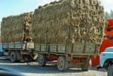 Hay bound for storage