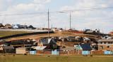 Residences in suburban Ulaanbaatar