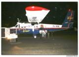 Landing on ST Eustatius with a little plane
