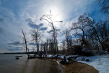 Late Winter  -- Bushey Point Leesylvania State Park on the Potomac River