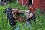 Abandoned Tractor Outside of Stowe, VT
