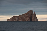 Kicker Rock Before Being Lit Up by the Setting Sun