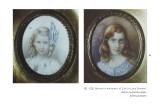 Ritratti in miniatura di Cicci e Luce Einstein, di Giacomo Balla