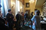 La direttrice del Museo Patrizia Rosazza guida i sognatori in Galleria