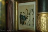Nella stanza da letto della Casa Museo di Mario Praz