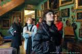 I sognatori nello studio di Mario Praz