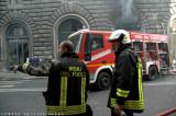 incendio Via del Corso - Roma 9 maggio 08