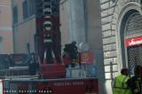 Incendio Via del Corso 9 maggio 2008