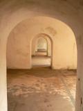 Archway in Castillo de San Cristobal