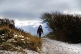 Annemarie on the walk