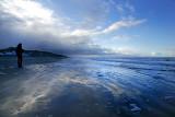 Ice blue seacape
