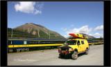 Train station in Seward, Alaska
