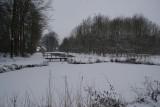 Kasteel Geldrop eerste sneeuw 2009