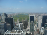 View from Top of The Rock (Central Park)