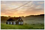Sunrise at Deep Run Schoolhouse
