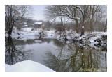 Winters Calm Along Tohickon Creek
