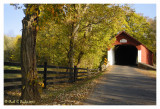 Early Autumn Along Knechts Covered Bridge