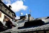 Roofs in Chamonix