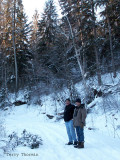 Dave and Alan at Whitemud Creek