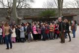 Kids visiting Topkapi Sarayi ( Palace )