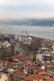 Istanbul View from top of Galata Tower