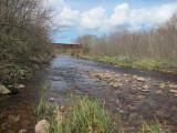 Round Hill Brook - downstream end of property near old railway bridge