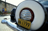 Old car at Baracoa
