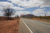The road from Uluru