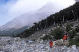 On the way to Piedras Blancas Glacier