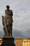 Ponte Santa Trinita statue