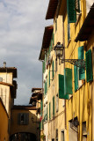 Typical street in Oltrarno