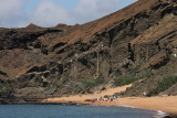 Beach at Bartolomé Island
