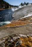 Midway Geyser Basin, Firehole River