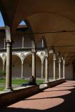 Santa Croce Church cloister