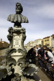 Cellini's bust at Ponte Vecchio
