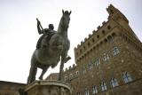 Equestrian statue of Cosimo I at Piazza della Signoria